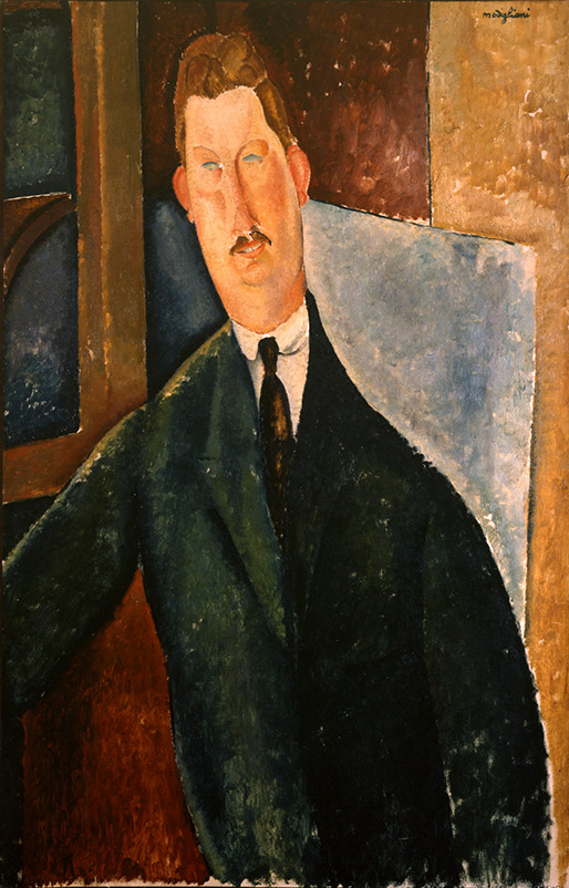 Amedeo MODIGLIANI《Portrait d'homme》